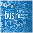 """BUSINESS"" Tag Cloud (strategy finance profit success)"