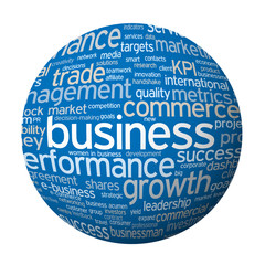 """BUSINESS"" Tag Cloud (strategy finance profit success)"