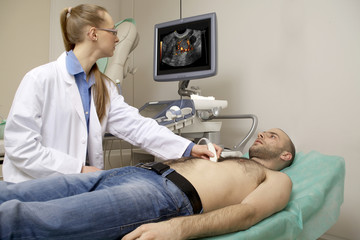 cardiac ultrasound examination
