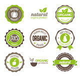 Organic Eco Badges