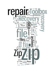 ZIP repair software tool