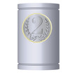 Medal on the can