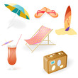 Vector Beach Set