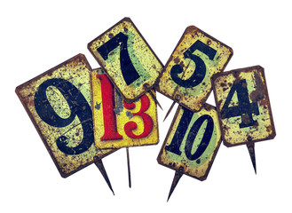 tin plate numbers