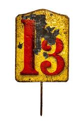 tin plate 13
