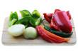 Gemüse wird verarbeitet