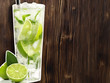 canvas print picture - Mojito Cocktail