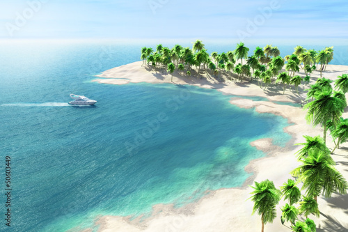 Tropical seaside