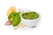 canvas print picture - Pesto Genovese e ingredienti