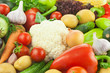 Fresh Healthy Vegetables /  Food Background