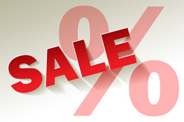 Sale rot weiss Prozent