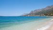 Urlaubs-und Badeort Gradac mit seinem 6 Kilometer langen Strand