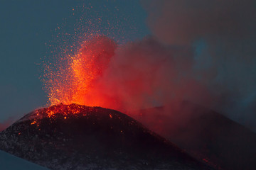 New eruption of Etna-2013