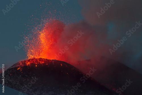 New eruption of Etna-2013