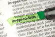 Inspiration definition highlighted in green