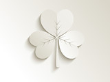 abstract cute clover