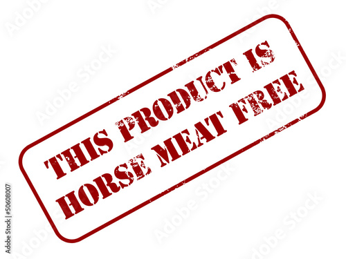 Horse meat free food stamp