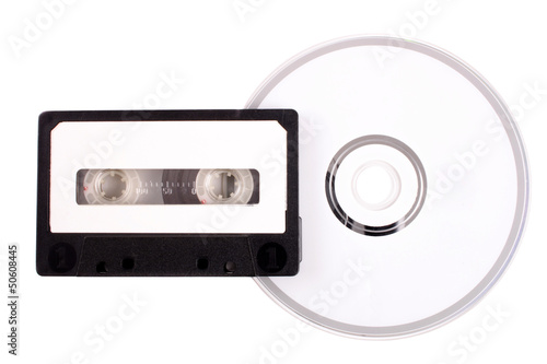 Audio cassette to compact disk
