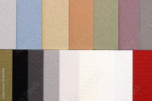 Catalog - Paper samples