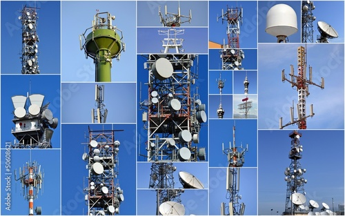 Collage di antenne