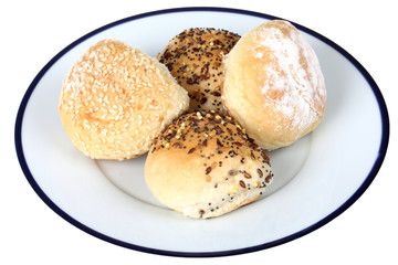 Selection of Bread Rolls