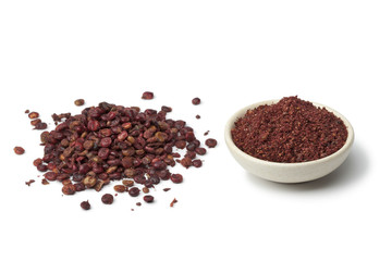 Ground Sumac and  berries