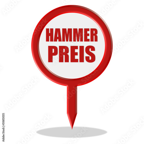 Pointer rot HAMMERPREIS