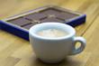 Espresso und Schokolade