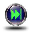 Fast Forward rewind, glossy icon