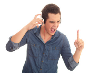 teen listening