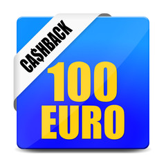 button eckig 100 euro cashback I