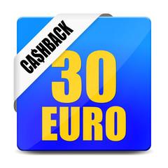 button eckig 30 euro cashback I