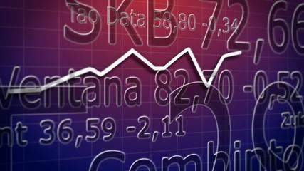 Wechselhafte Aktienkurse