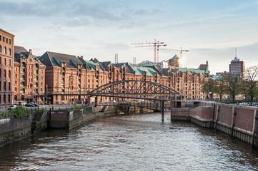 Speicher am Hamburger Binnenhafen