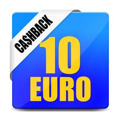 button eckig 10 euro cashback I