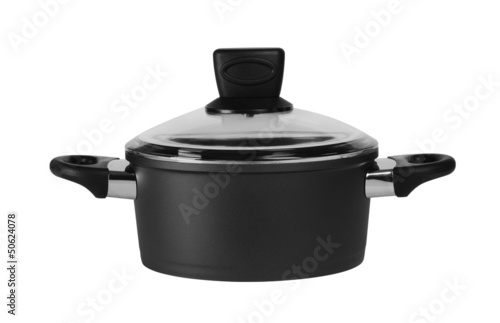 Cooking pot. Isolated