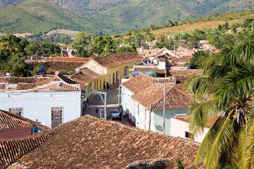Roofs of Trinidad, Cuba