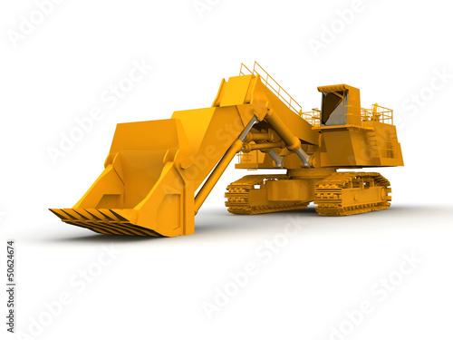 Fototapeten,groß,planierraupe,konstruktion,contractor