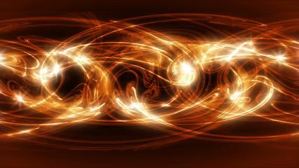Lory - Fiery Fractal Video Background Loop