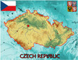 Czech Republic Europe national emblem map symbol motto