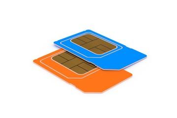 Dual SIM Karte Phone Card #1