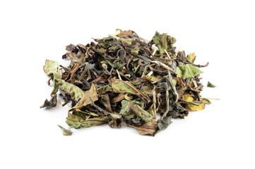 Heap of white tea
