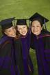 Three female graduates