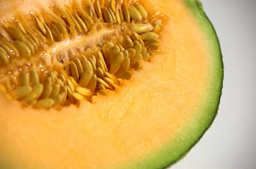 Melon close up