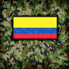 Amy camouflage uniform, Colombia