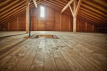 Holzdachkammer