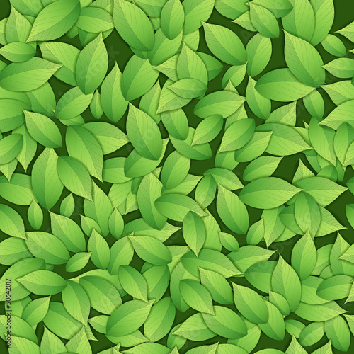 Nature abstract green seamess pattern