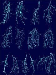 blue lightnings collection