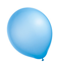 balloon on a white background