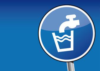 Schild, Trinkwasser, Umwelt, Süßwasser